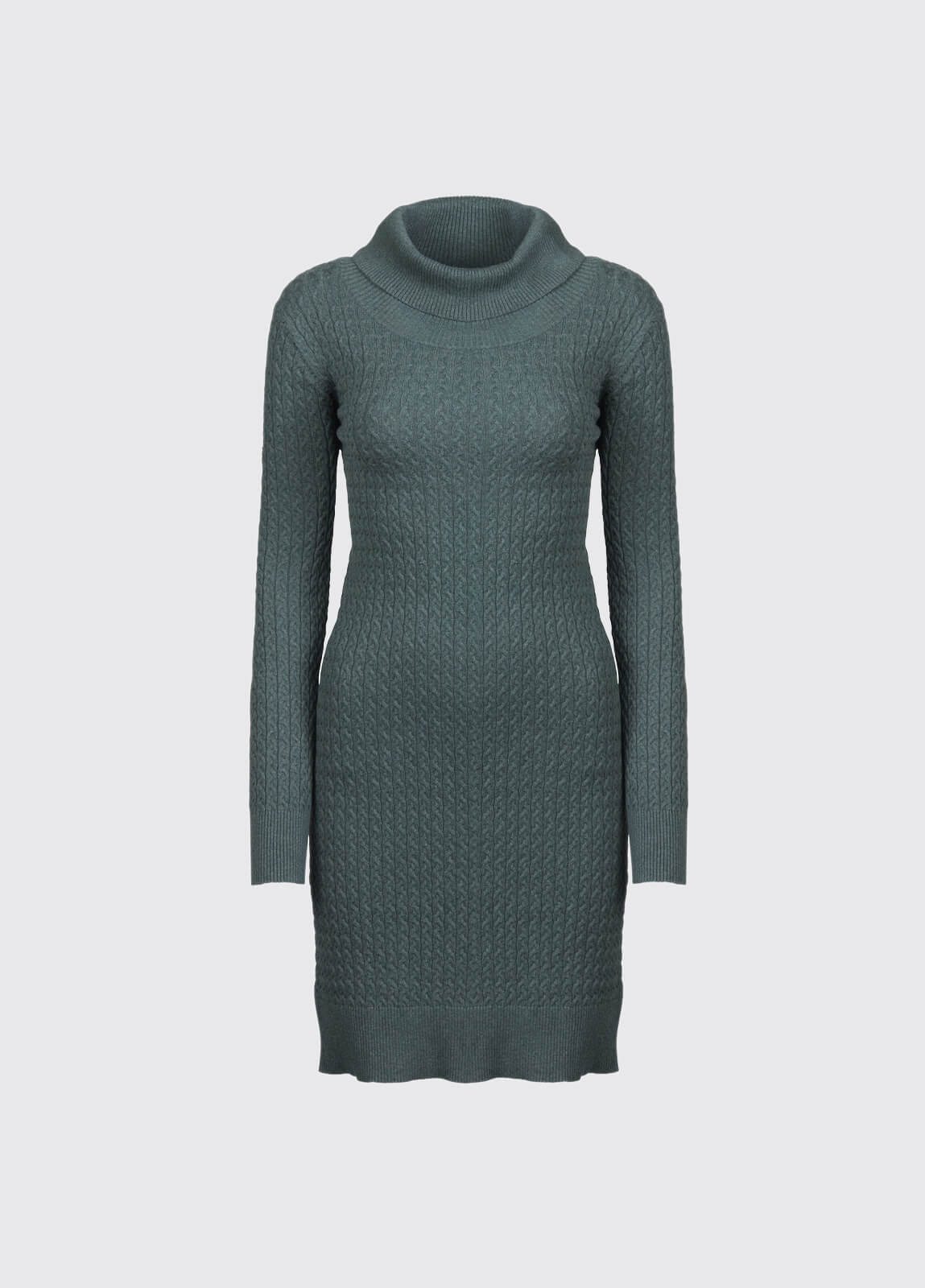 Renvyle Sweater Dress - Verdigris