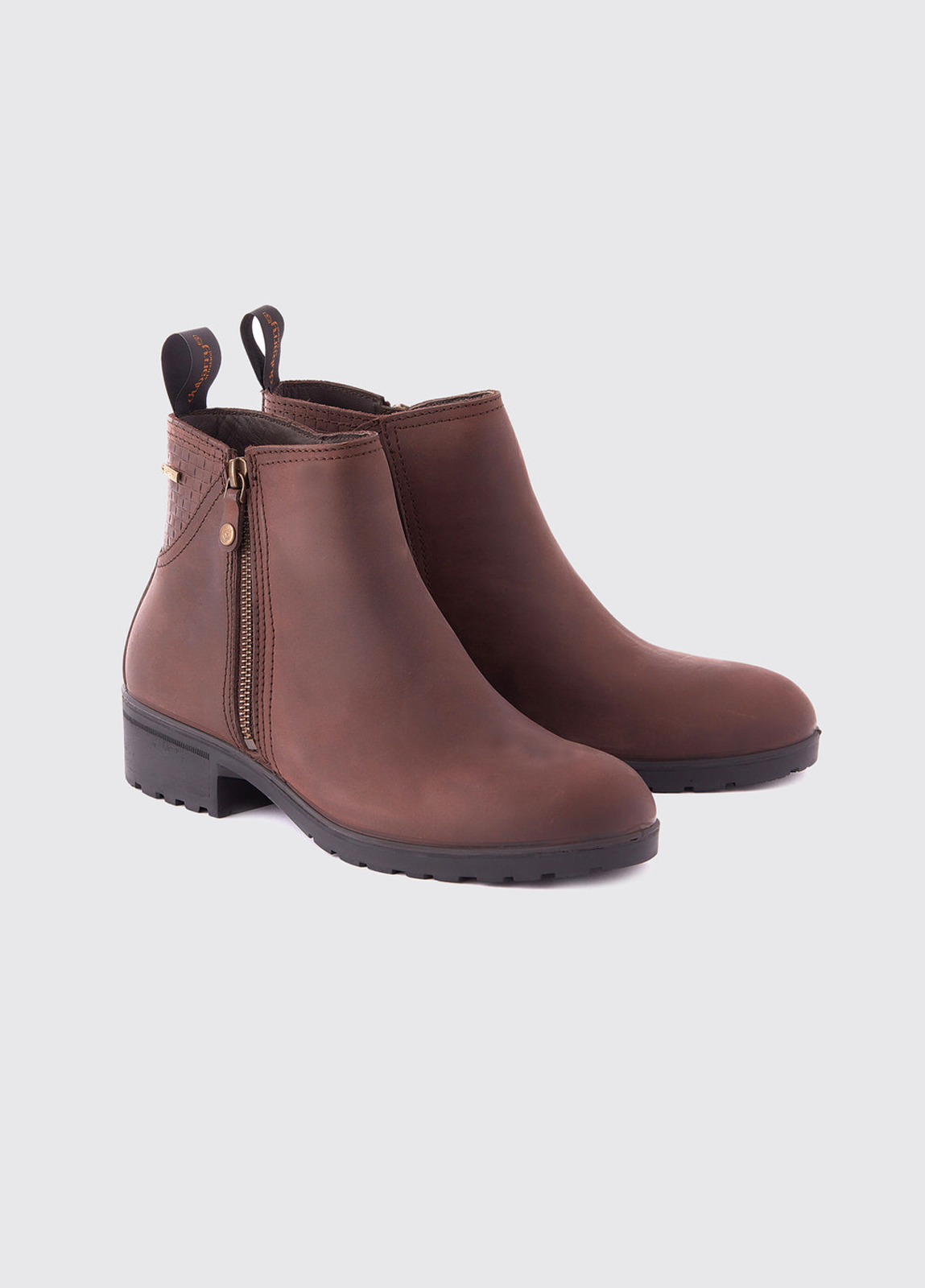 Carlow Leather Boot - Old Rum