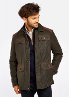 Broadford Wax Jacket - Olive