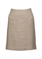 Sunflower Linen Ladies Skirt - Oatmeal