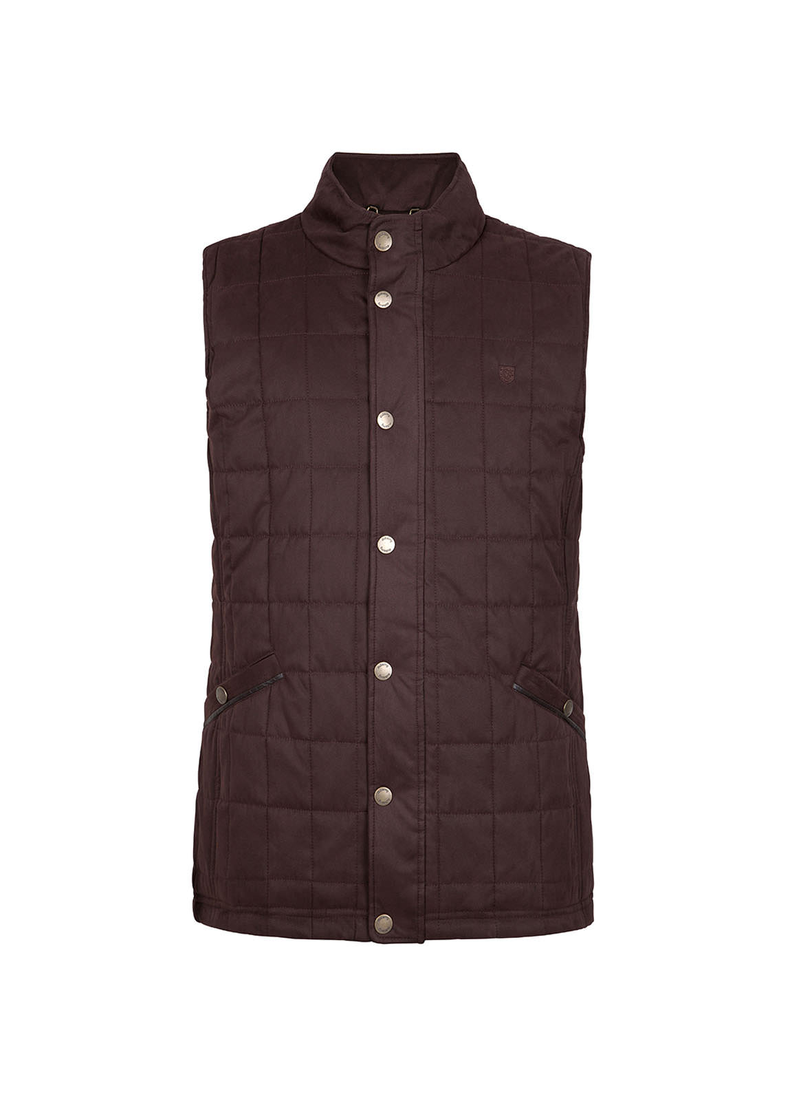 Dubarry_ Yeats Quilted Gilet - Chestnut_Image_2