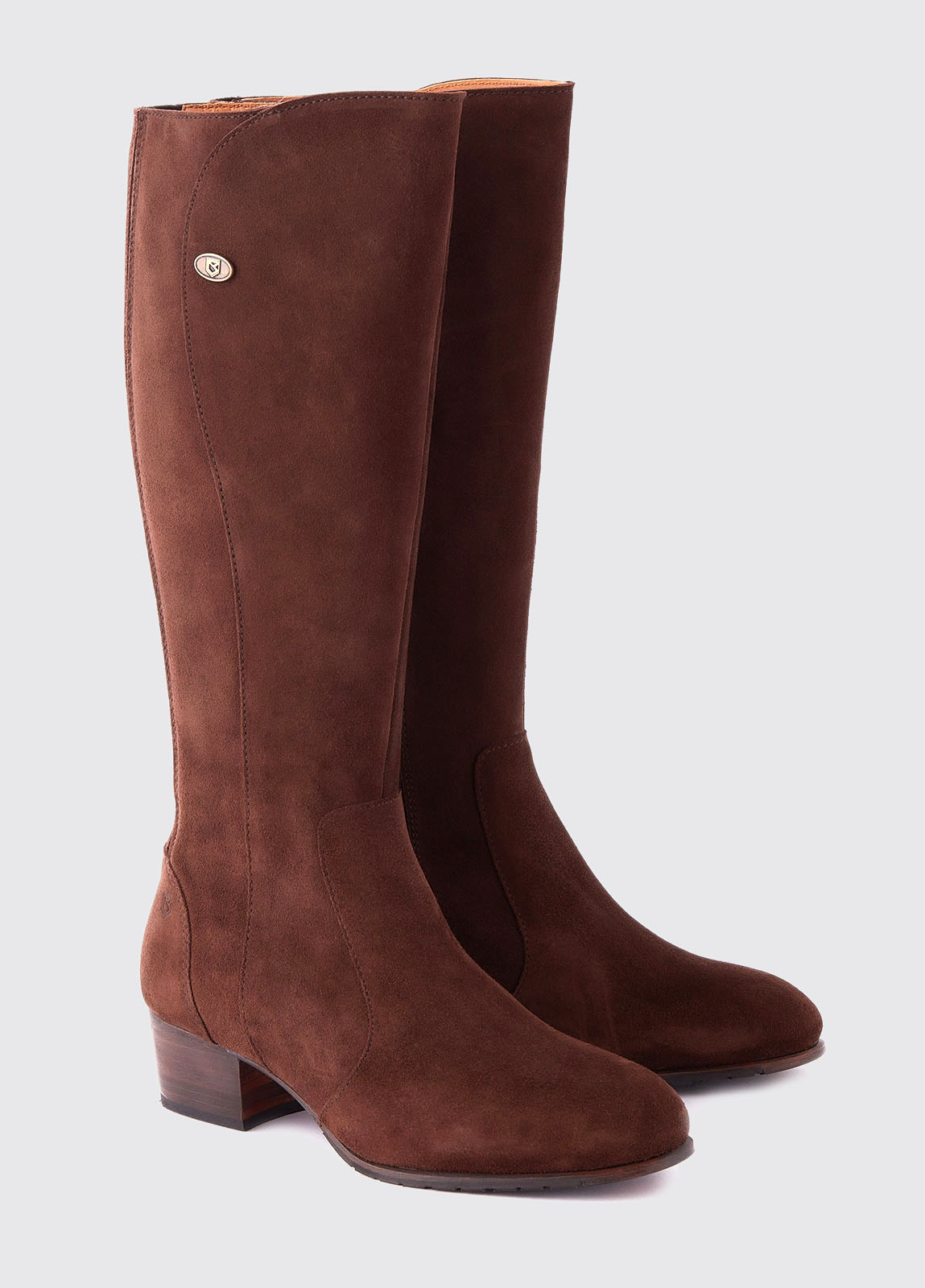 Downpatrick Knee High Boot - Cigar