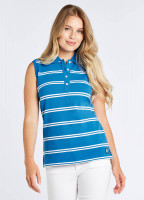 Mohill Sleeveless Top - Kingfisher
