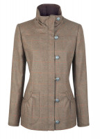 Bracken Tweed Coat - Oak