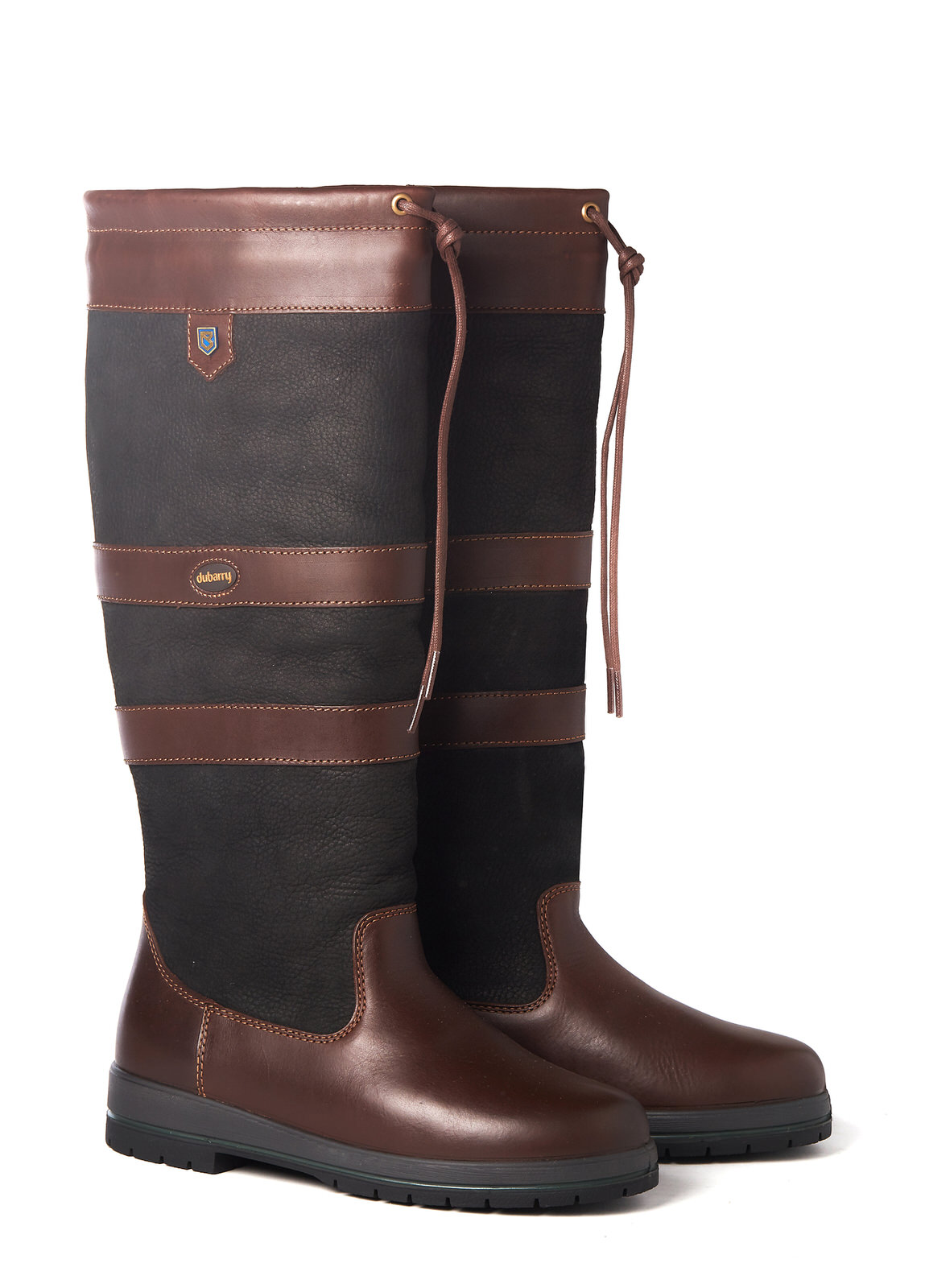 Galway ExtraFit™ Country Boot - Black/Brown