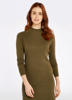 McDonnell Sweater Dress - Dusky Green