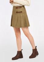 Blossom Tweed Skirt - Elm