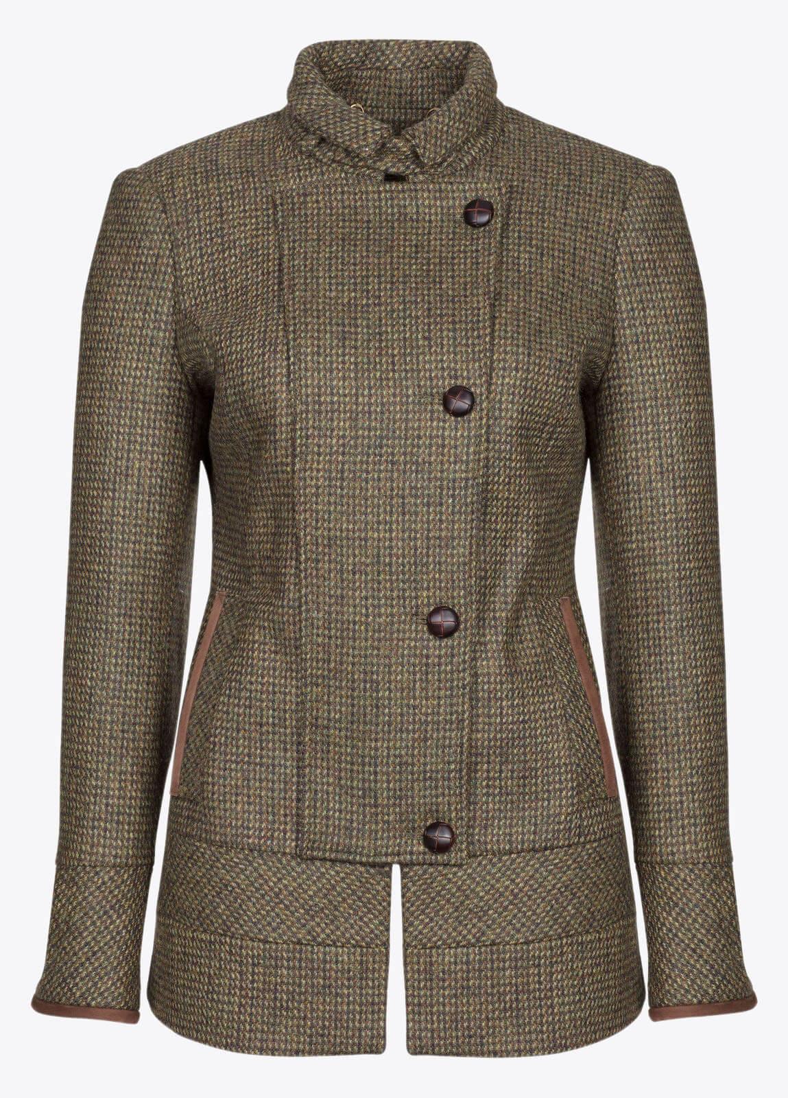 Willow Tweed Jacket - Heath