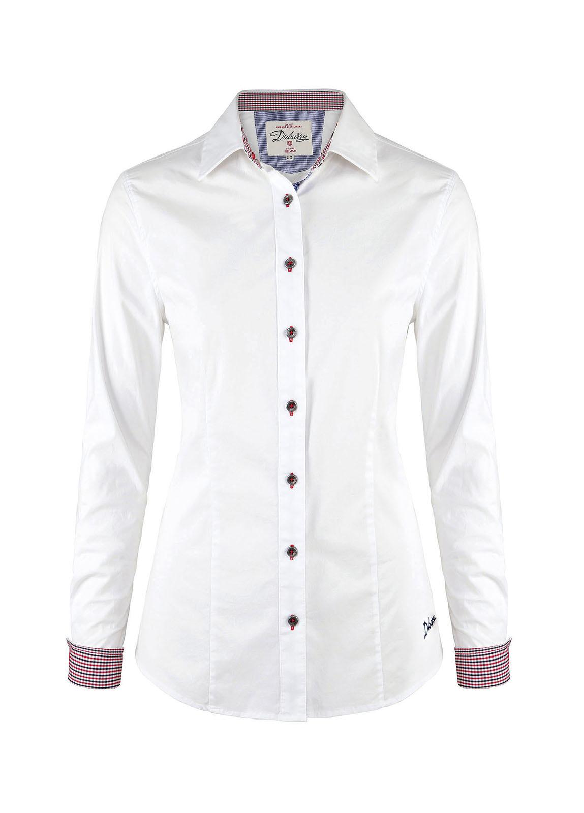 Carnation Womens Shirt - White