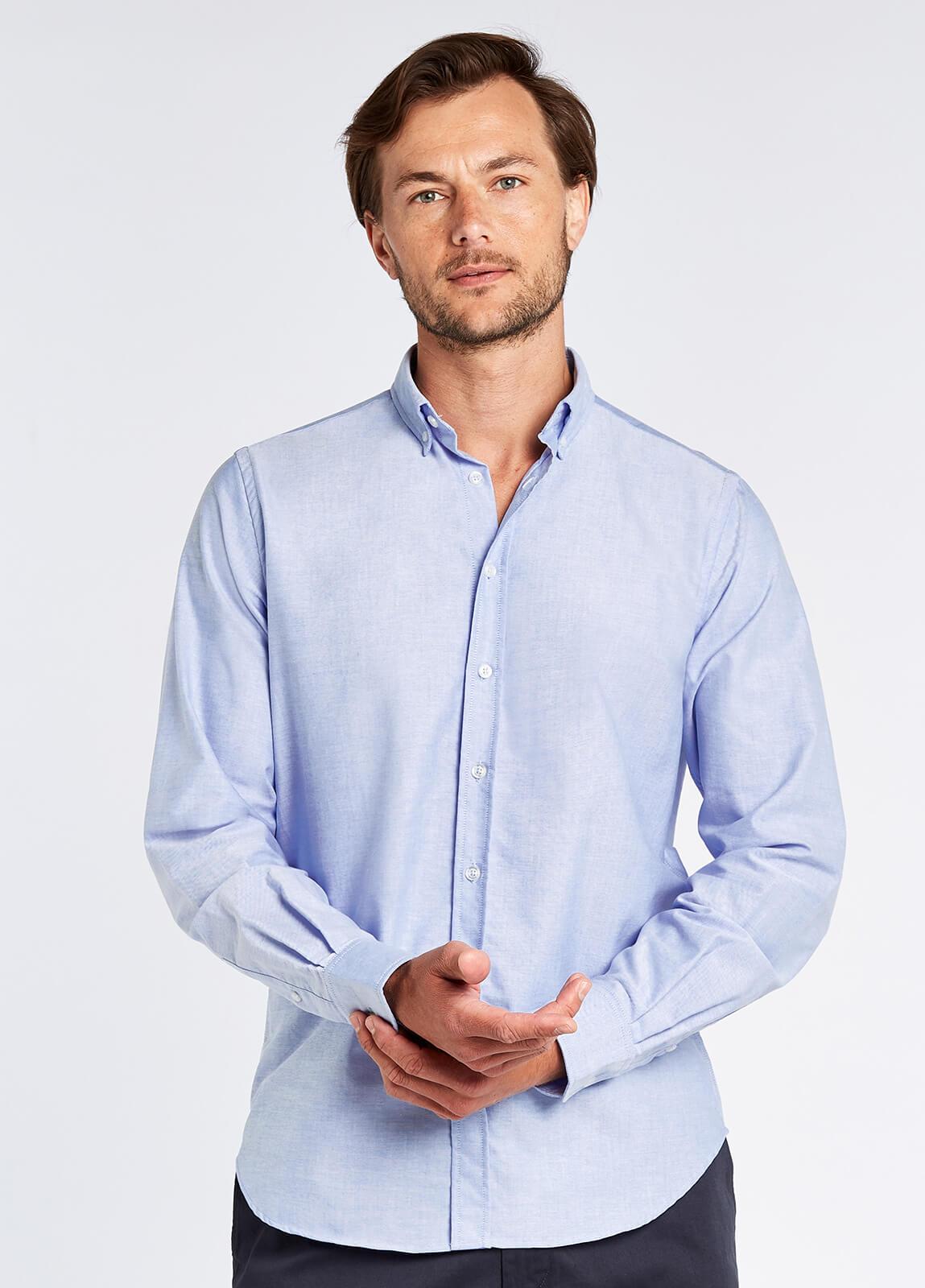 Castlecove Oxford Shirt - Pale Blue
