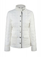 Carra Womens Quilted Jacket - Sail White