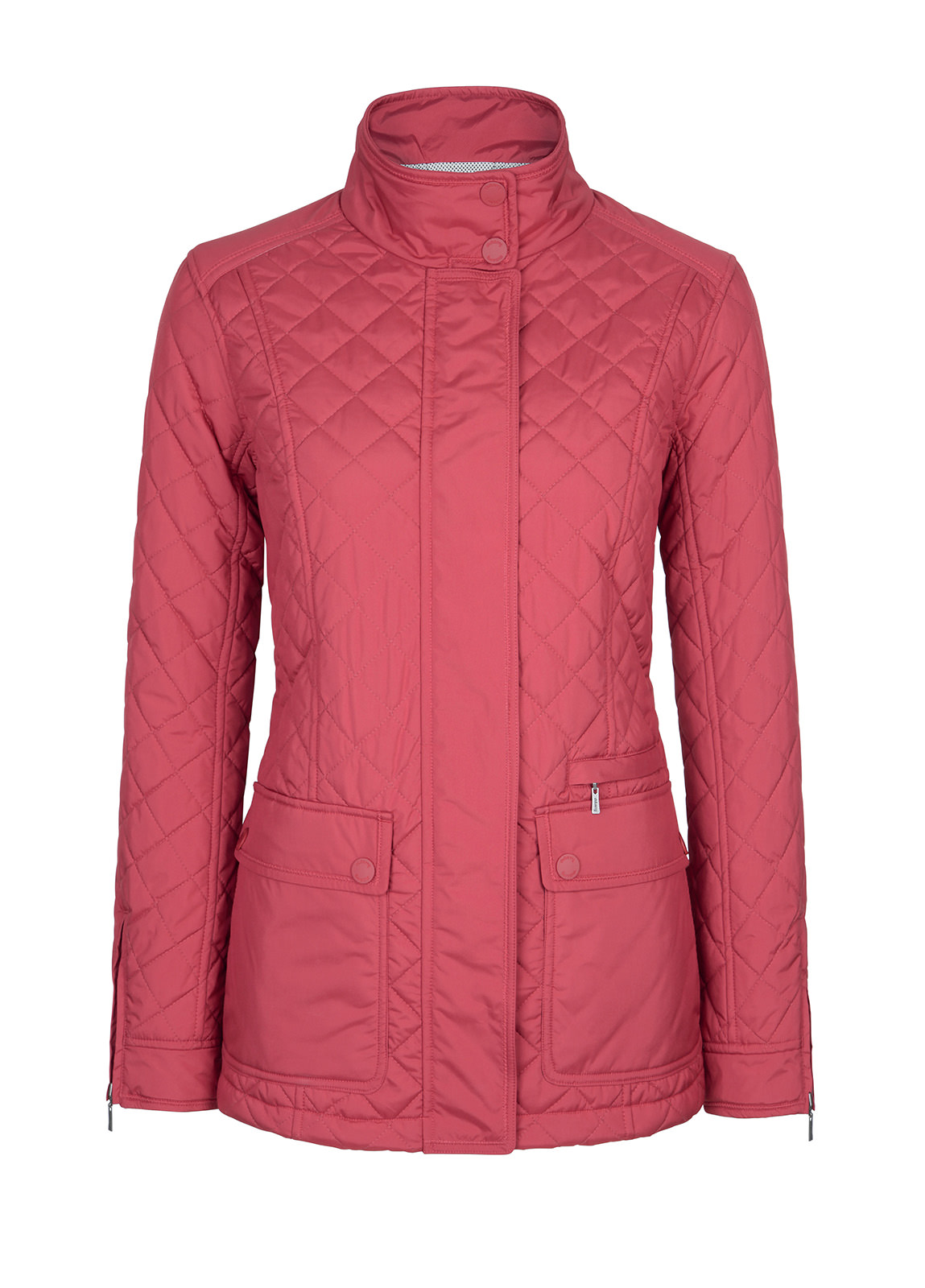 Dubarry_Behan Waterproof Quilted Jacket - Merlot Multi_Image_2