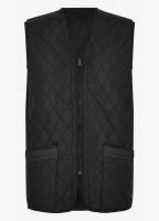 Ballygar Quilted Waistcoat - Black