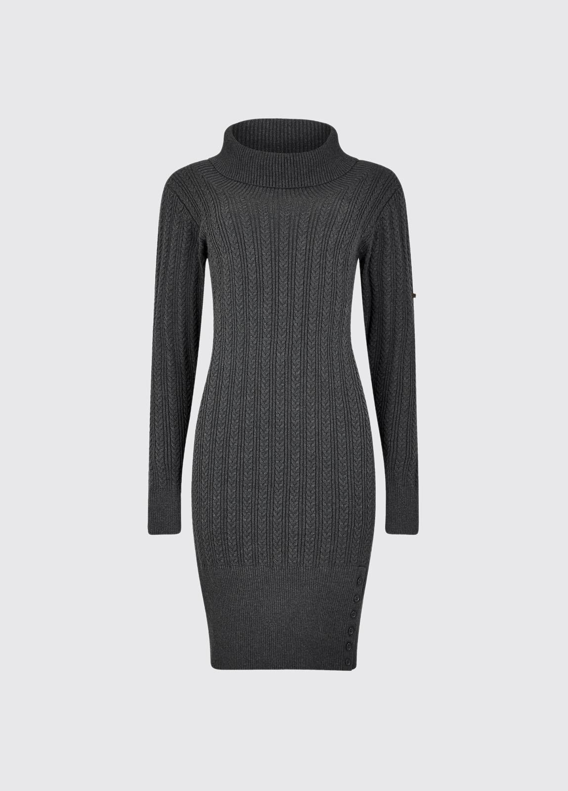 Westport Sweater dress - Graphite