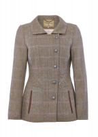 Moorland Tweed Jacket - Woodrose
