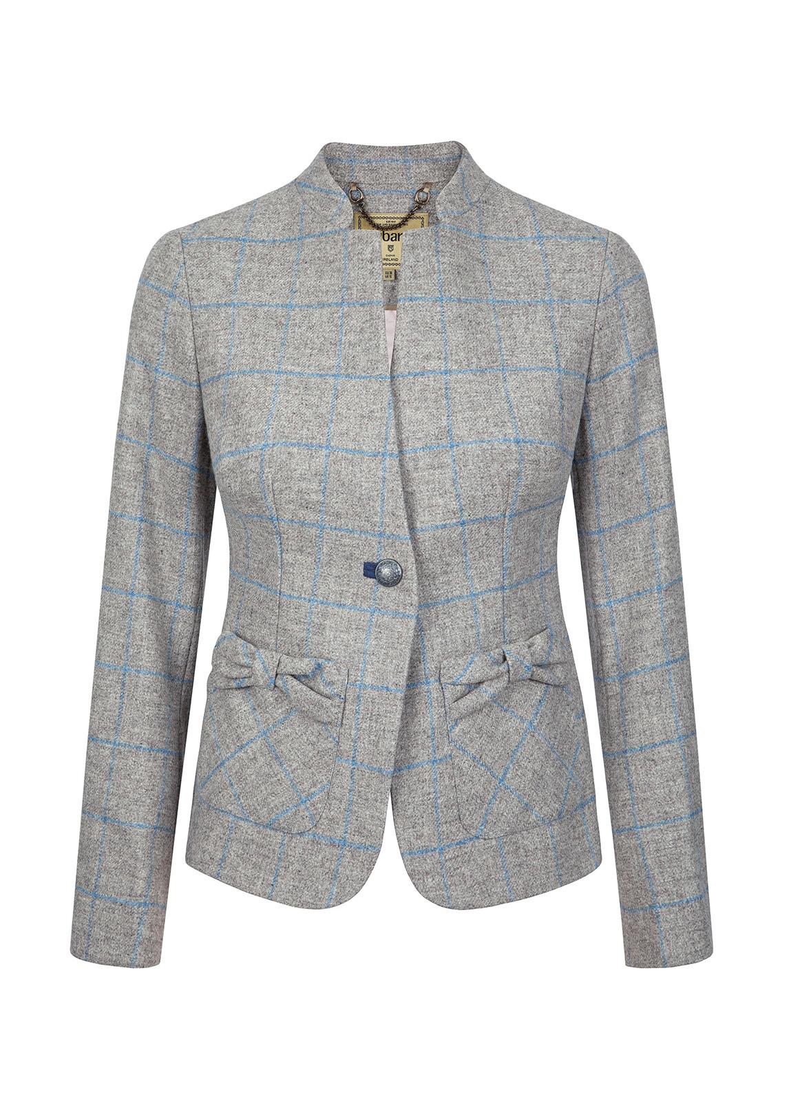 Dubarry_ Jasmine Tailored Tweed Jacket - Shale_Image_2