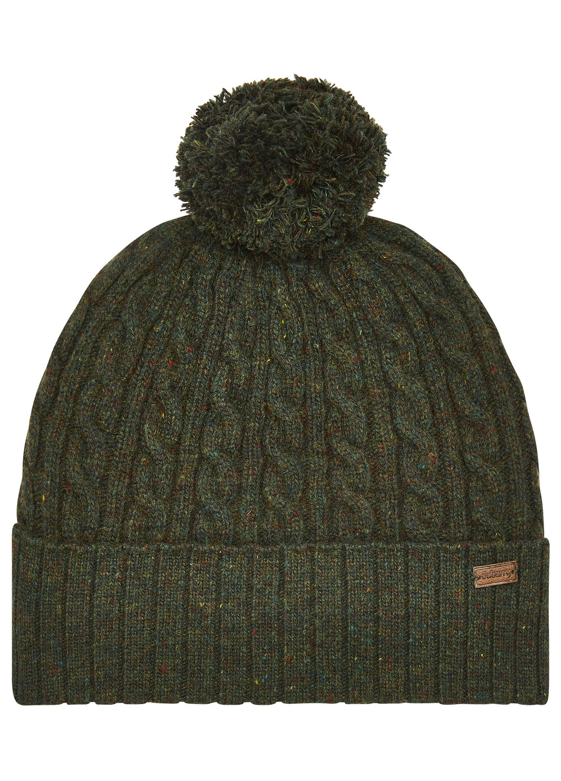 Schull_Knitted_Hat_Olive_Image_1