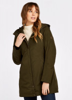 Bunratty Travel Coat - Olive