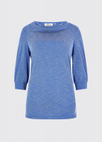 Ballymote Top - Royal Blue