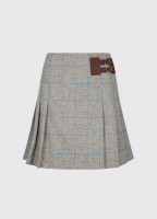 Foxglove Tweed Skirt - Shale
