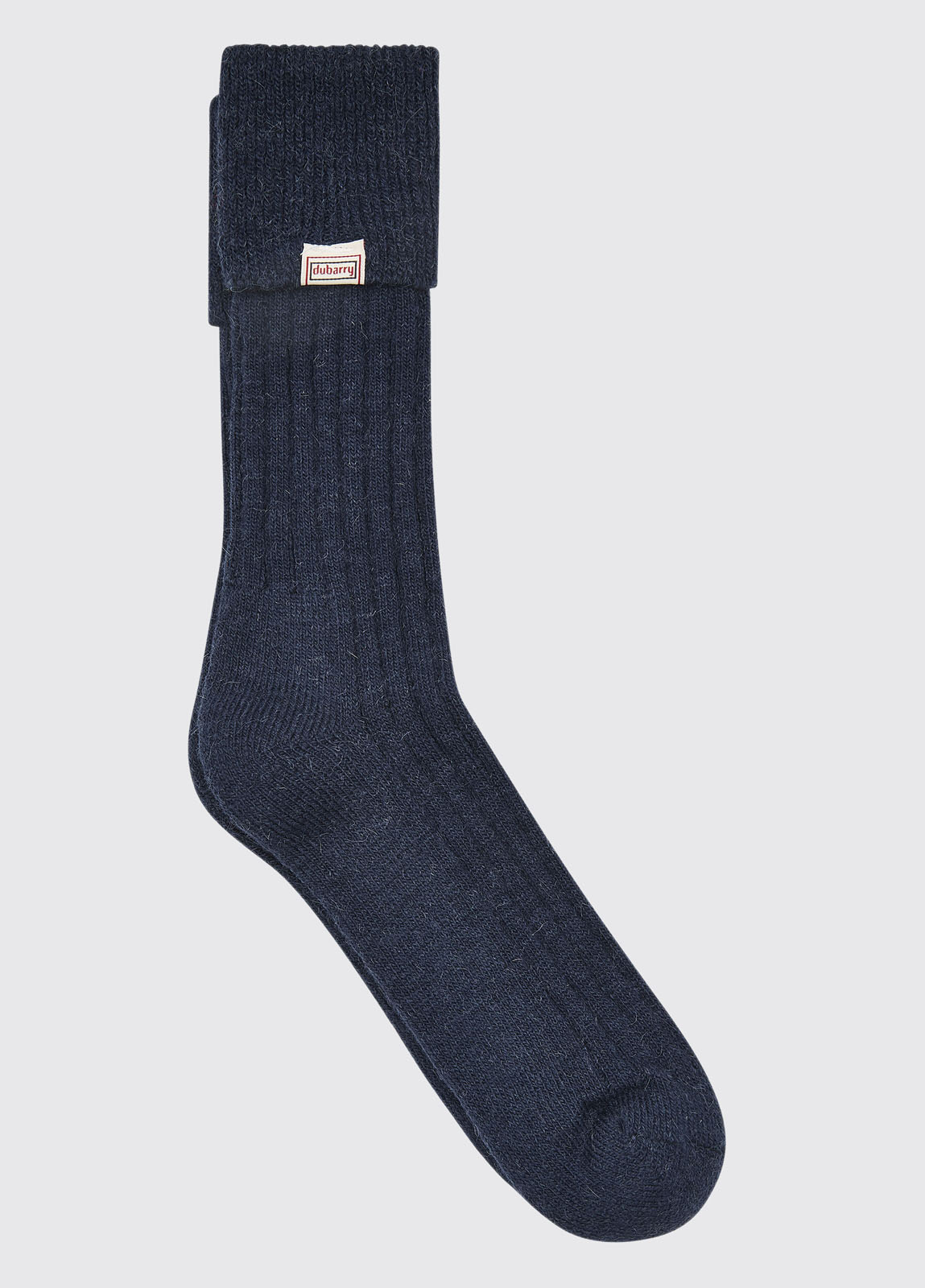 Holycross Alpaca Socks - Navy