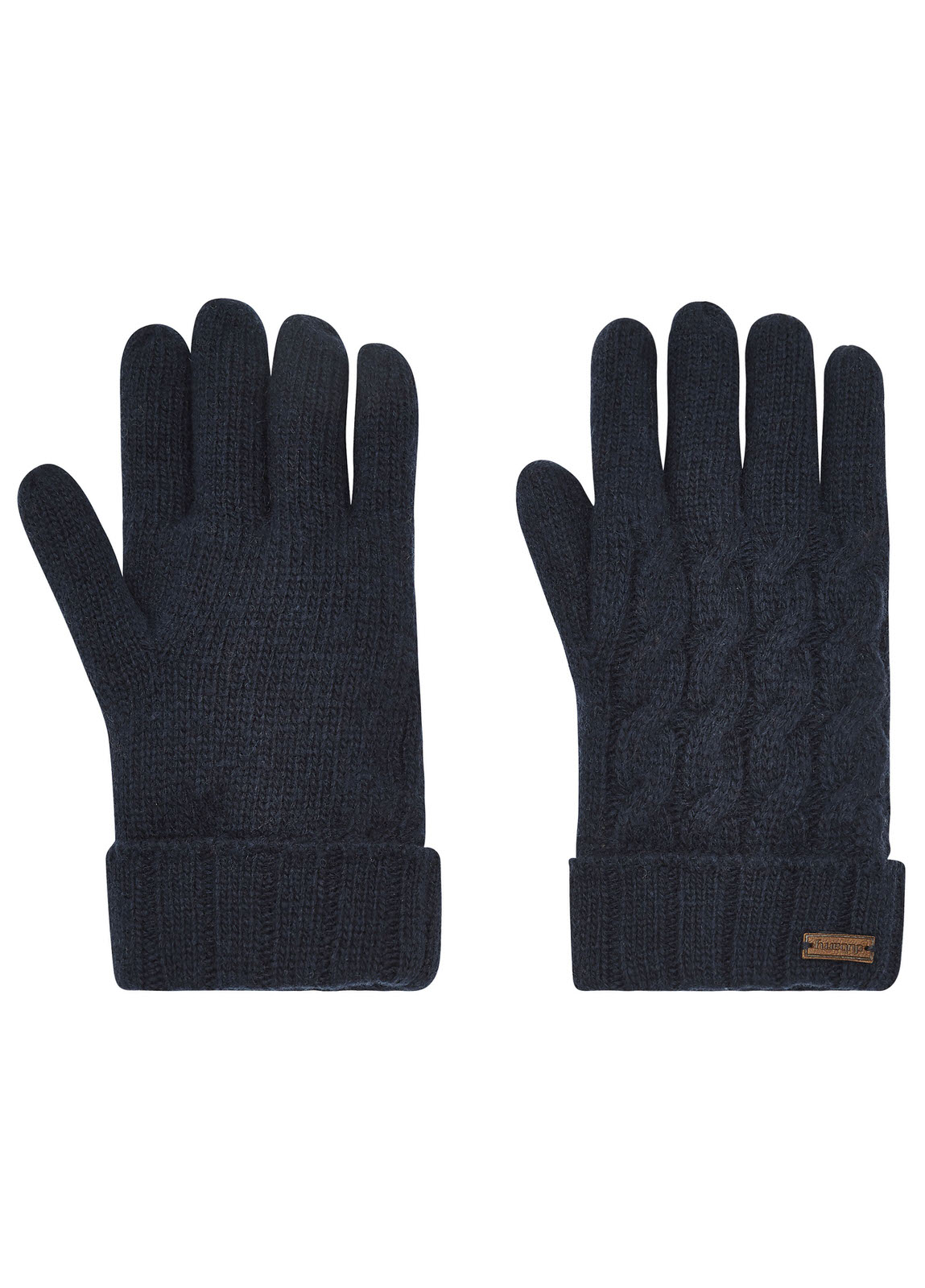 Buckley_Knitted_Gloves_Navy_Image_1