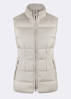 Spiddal Quilted Gilet - Putty