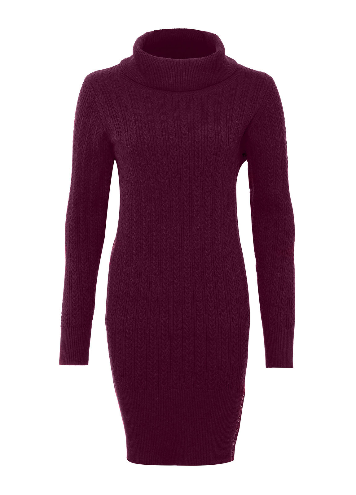 Westport_Sweater_dress_Malbec_Image_1
