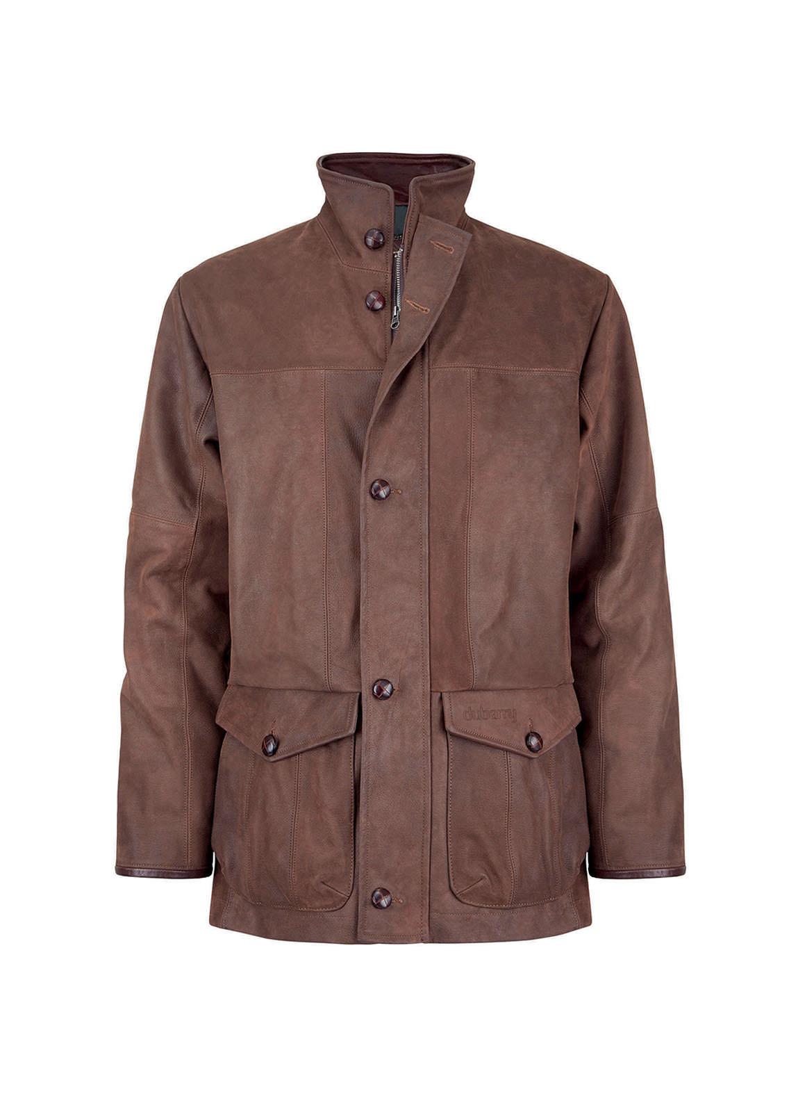 Dubarry_ Kimble Mens Leather Jacket  - Walnut_Image_2