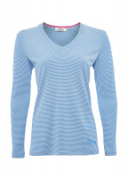 Portumna Long-sleeved Top - Blue