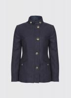 Heatherbell Tweed Jacket - Navy