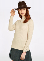 Brennan Knitted Sweater - Oyster