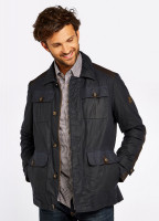 Broadford Wax Jacket - Navy