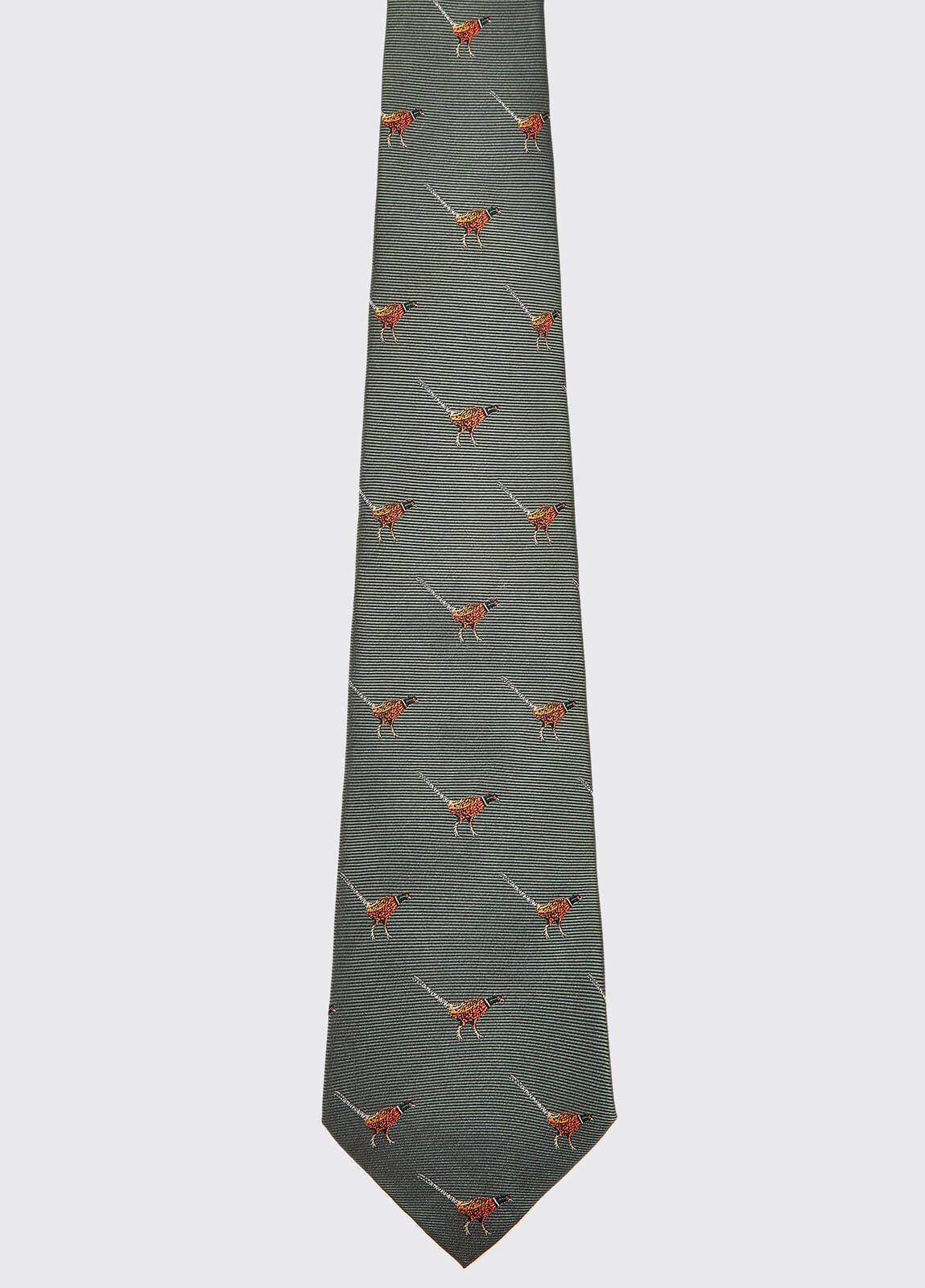 Madden Silk Tie - Olive