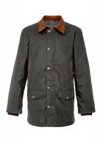 Headford Waxed Jacket - Olive