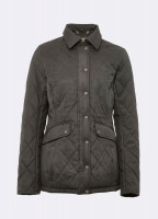 Heaney Quilted Coat - Verdigris