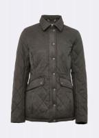 Heaney Quilted Coat - Verdigris