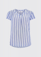 Gardenia Shirt - Royal Blue