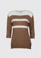 Morrison Ladies Sweater - Cafe