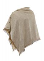 Hazelwood Tweed Poncho - Sable