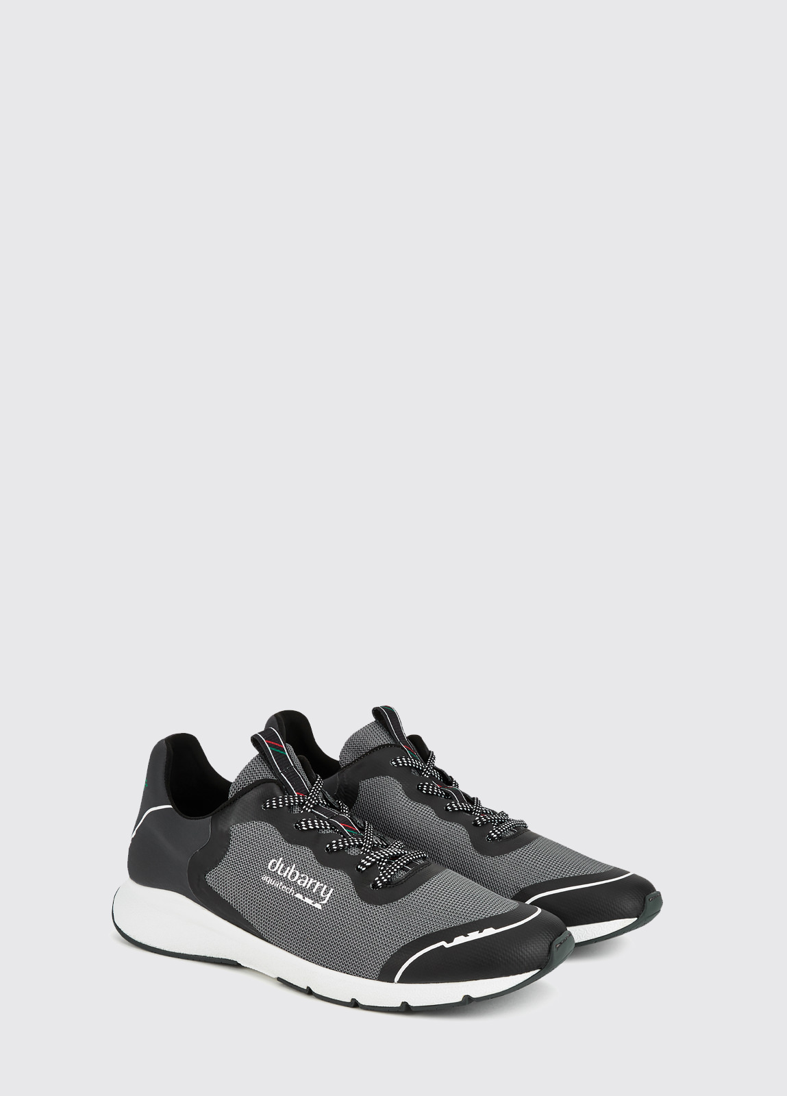Palma Lightweight Laced Trainer - Graphite