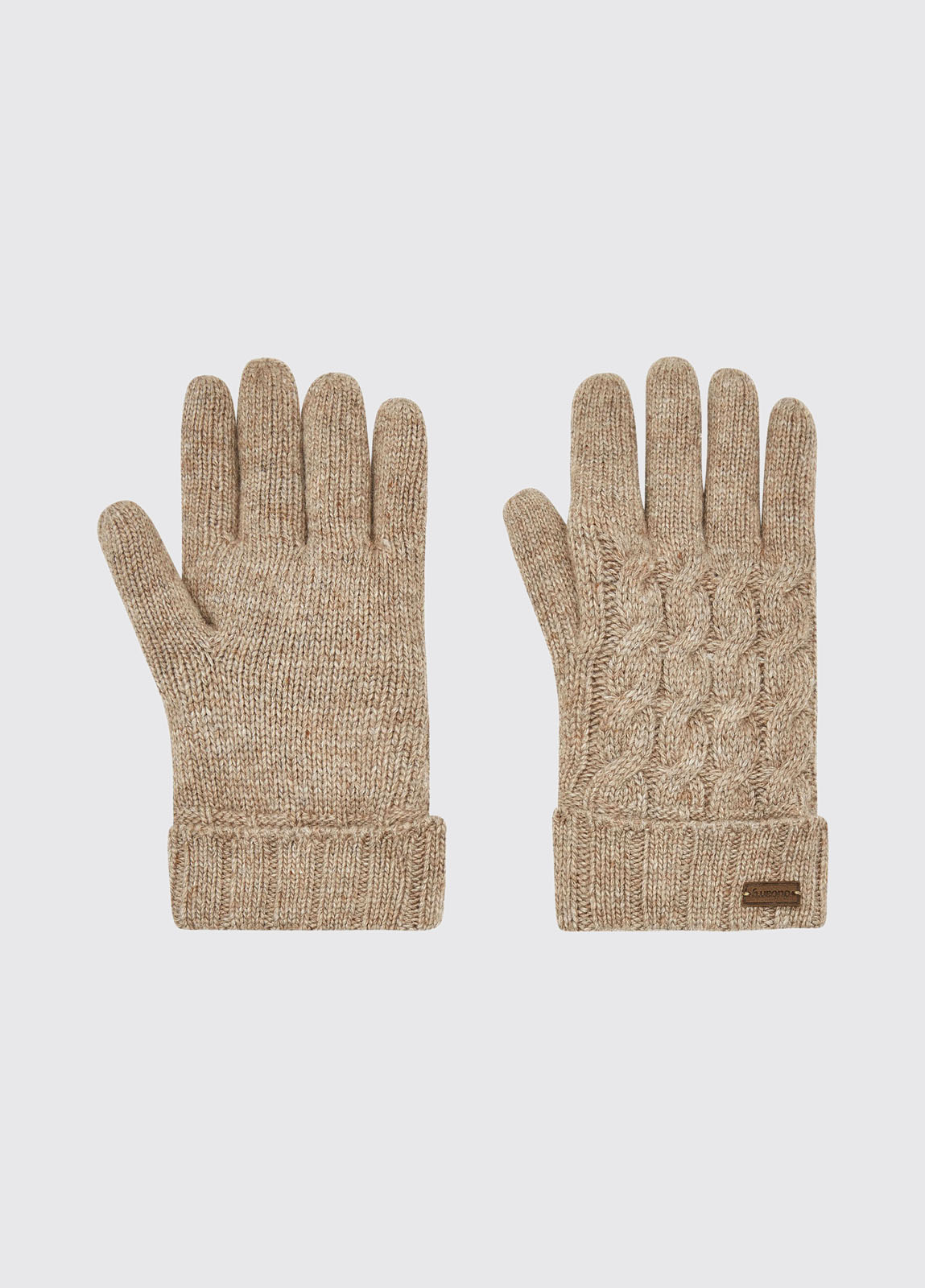 Buckley Knitted Gloves - Stone