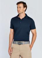 Sorrento Unisex Short-sleeved Polo - Navy