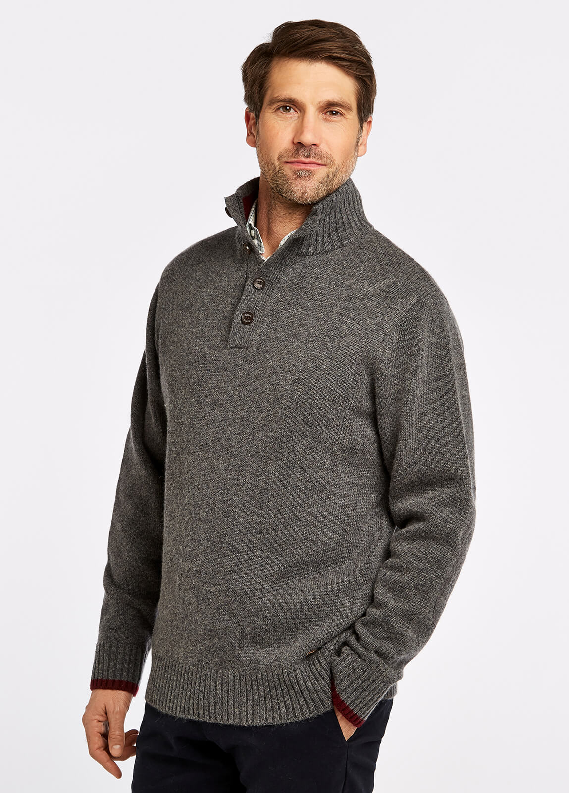 Hughes Sweater - Grey