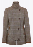Willow Tweed Jacket - Woodrose