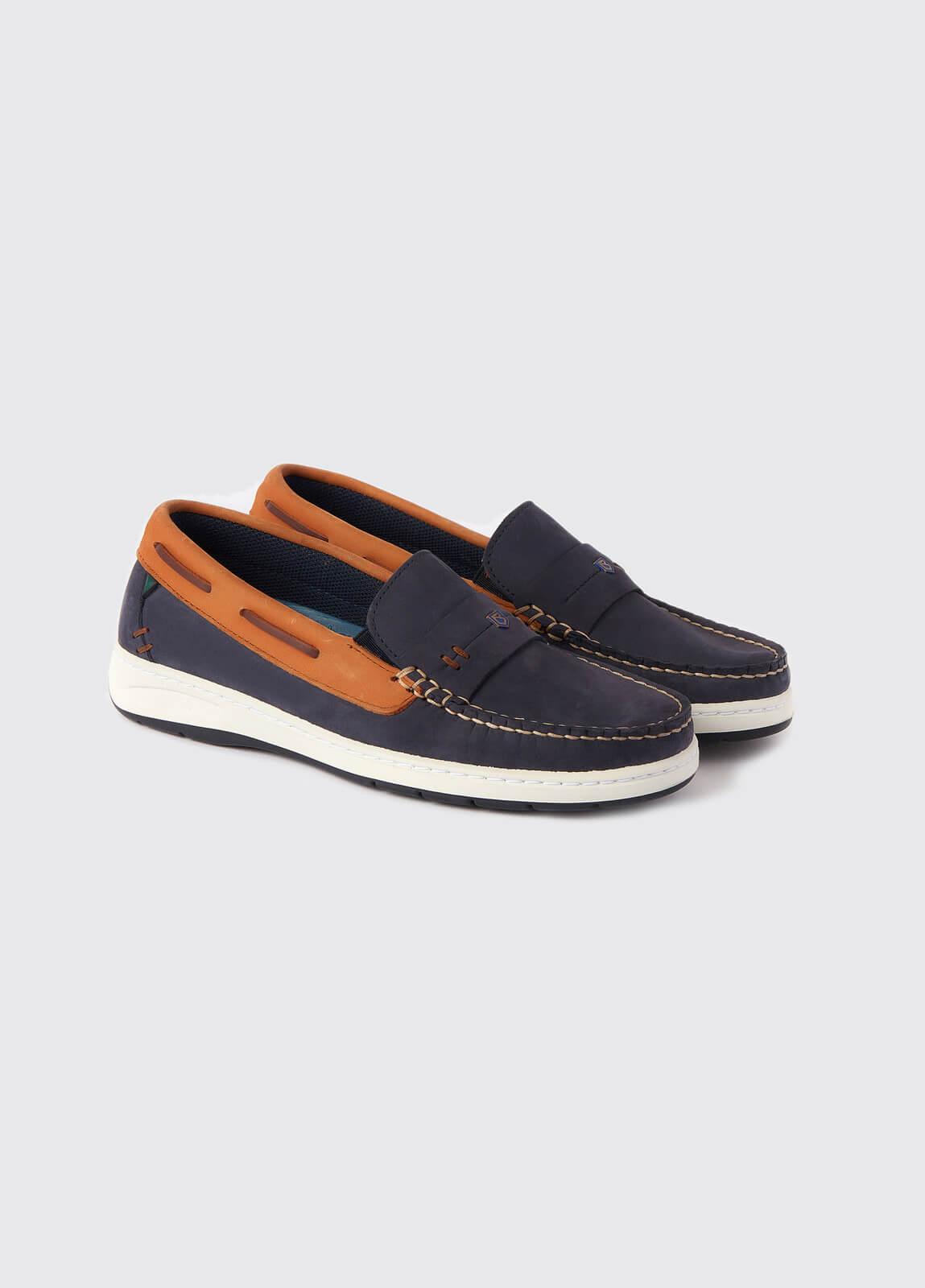 Havana Deck shoes - Denim/Tan