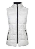 Spiddal Quilted Gilet - Sail White