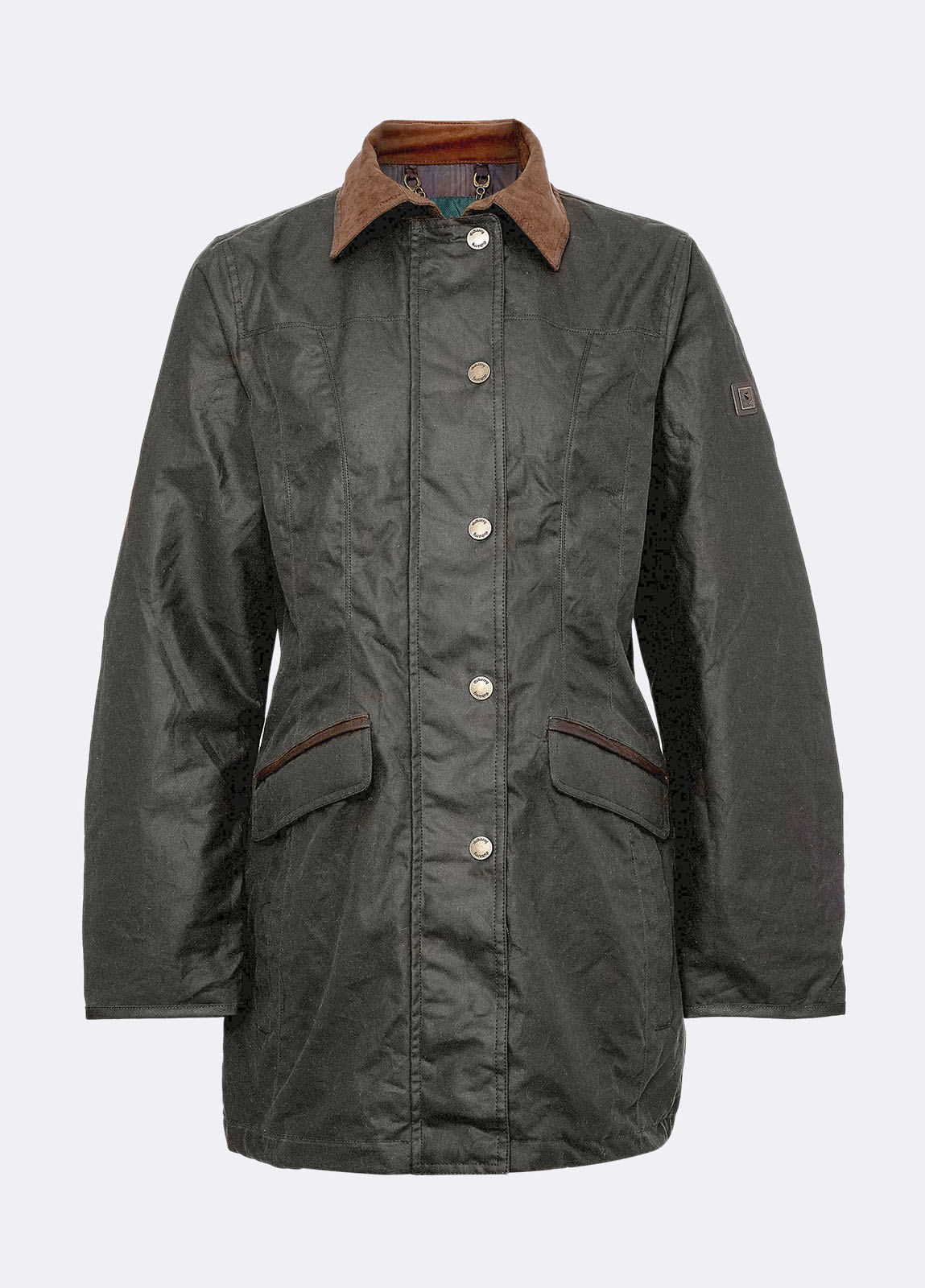 Baltray_Waxed_Jacket_Olive