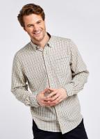 Connell Tattersall Check Shirt - Slate Blue