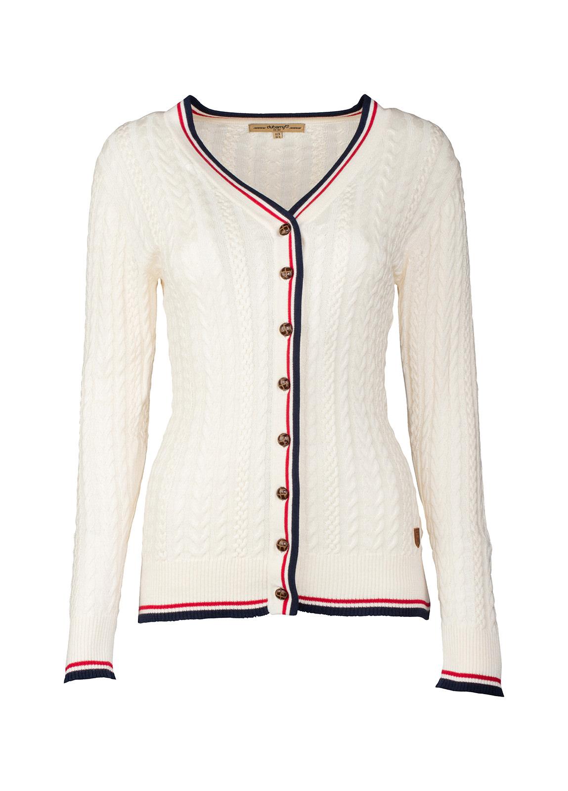 Dubarry_ Gort Ladies Cardigan - Sail White_Image_2